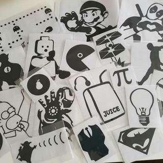 Laptop Stickers!!