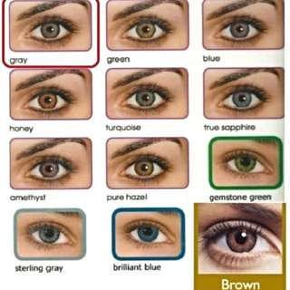 Fresh look Colour Contact Lenses