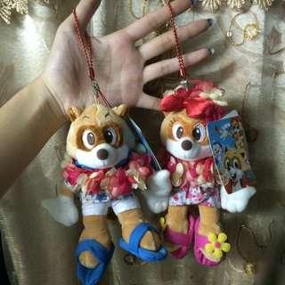 韓國 樂天世界 玩偶吊飾