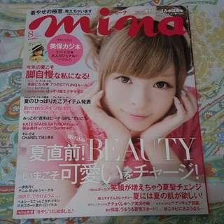 MINA (ミーナ) August 2013