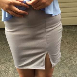 Mini Split Skirt
