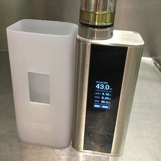 Electronic Cigarette Vape Cuboid 150w Stainless Steel Version