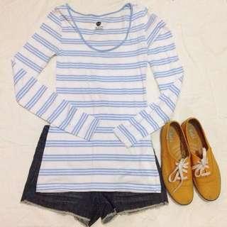 Blue Stripes Longsleeve
