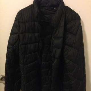 Lightweight Black Puffer Jacket