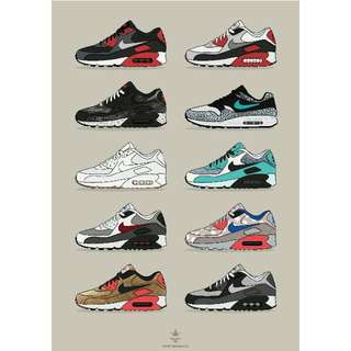AIRMAX A3/A4 POSTER (COMMISION)