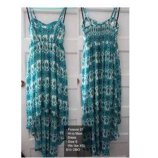 Forever 21 Hi-lo Maxi Dress