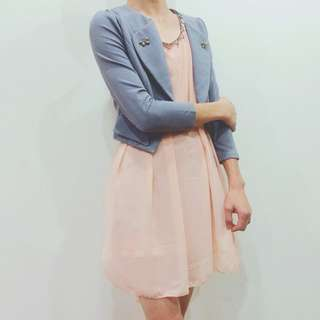小粉嫩洋裝👗