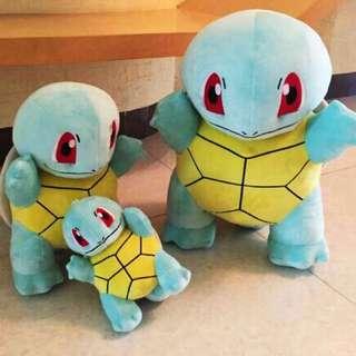 Pokemon Stuff Toy Squirtle Pichu Eevee