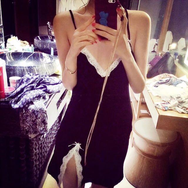 🌻🌻💕棉質睡衣睡裙。很親膚(實品照)🌻🌻