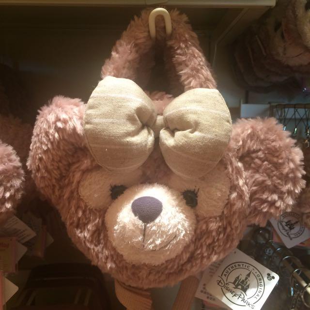迪士尼 達菲、雪莉玫大頭側背、手提兩用包