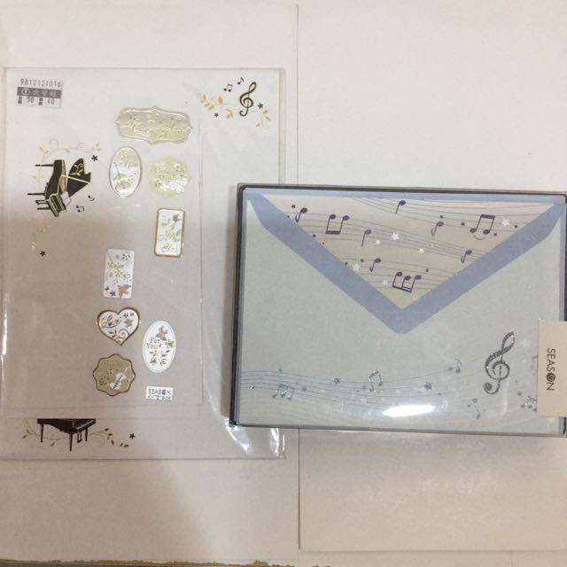 音樂 音符 信紙