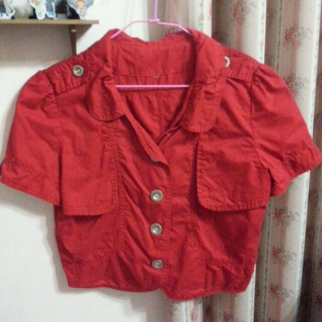 二手 禮服小外套 罩衫 短袖短版