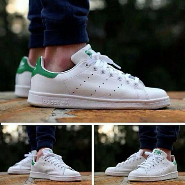 正品公司貨 Adidas Stan Smith 綠標
