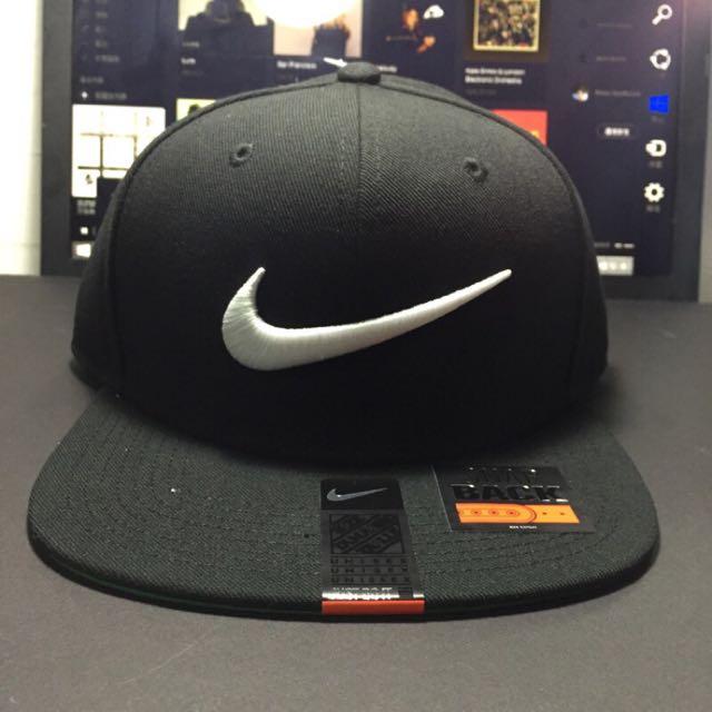 ACE LAMN 代售 NIKE LOGO 黑色 棒球帽