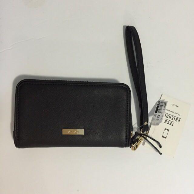 Aldo Black Tech Friendly Wallet
