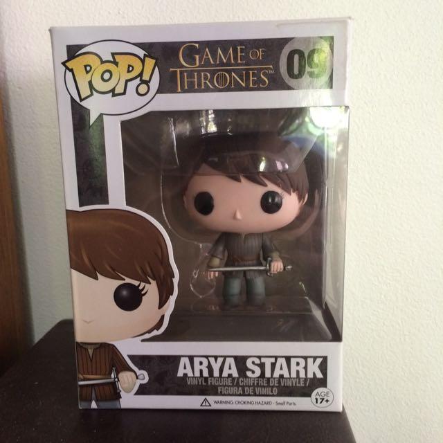 Arya Stark Pop Vinyl