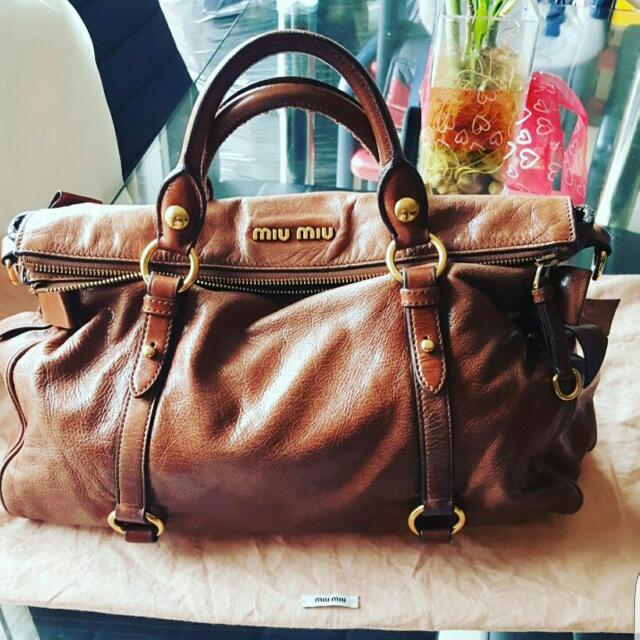 Authentic Miu Miu Bow Bag