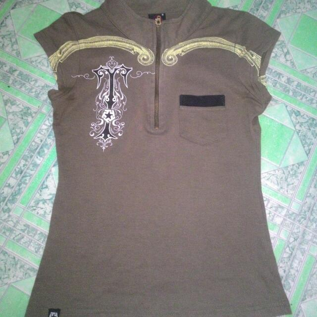 Authentic shirts For Ladies All Size SMALL  TRIBAL 250 DICKIES 100 HERBENCH 80 HARVARD 80