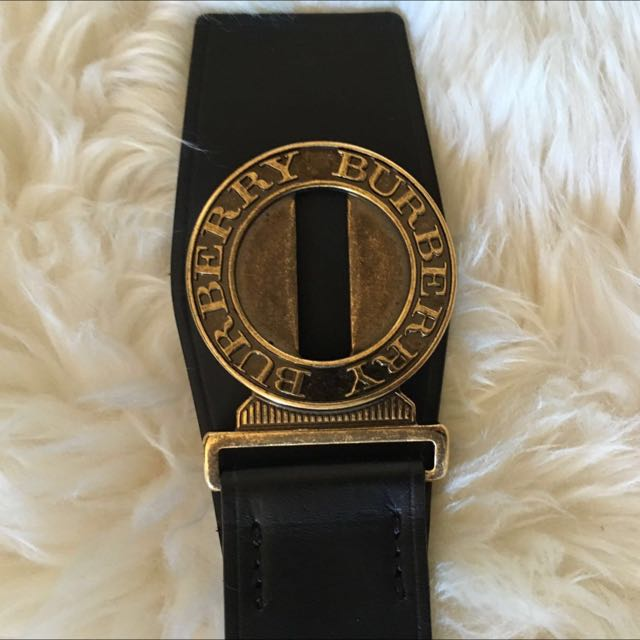 Authentic Women's Burberry Belt