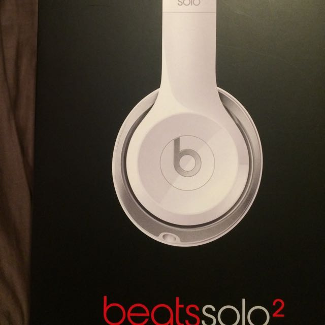 Beats Solo 2 Headphones In Original Packaging