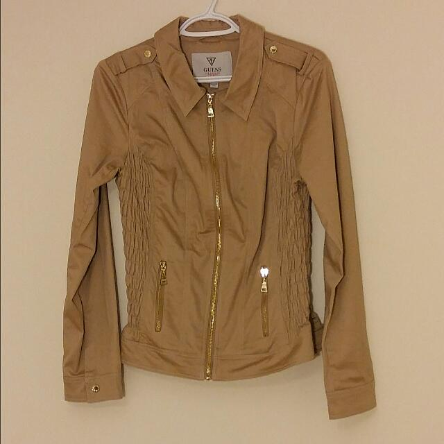 Beige Guess Jacket