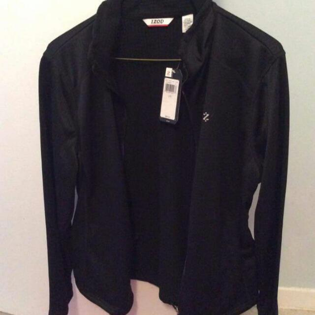 Black Women's Izod Jacket Size L