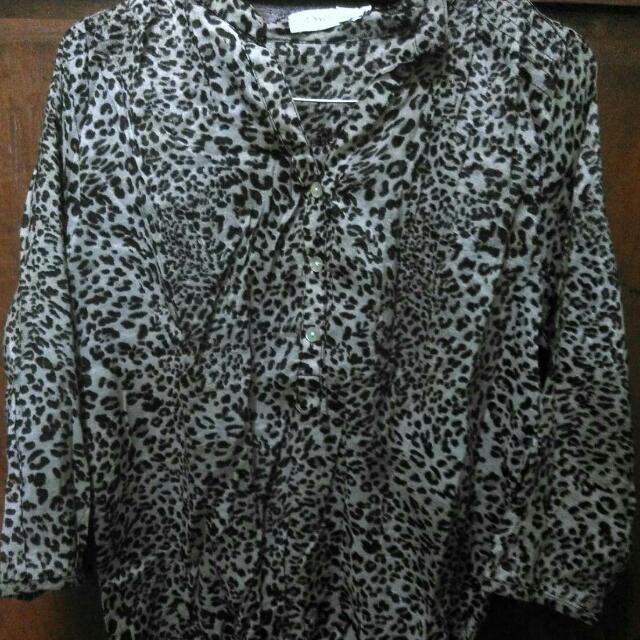 blouse leopard (St.Yves)