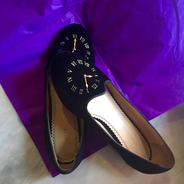 "Charlotte Olympia ""Fashionably Late"" Flats"