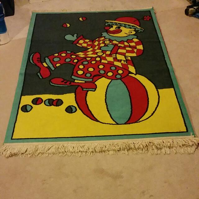 Child Clown Carpet