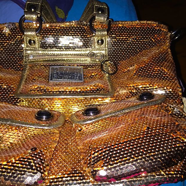 Coach Sequin Bag