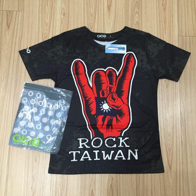 [搖滾台灣]原創設計cool max吸濕排汗tshirt