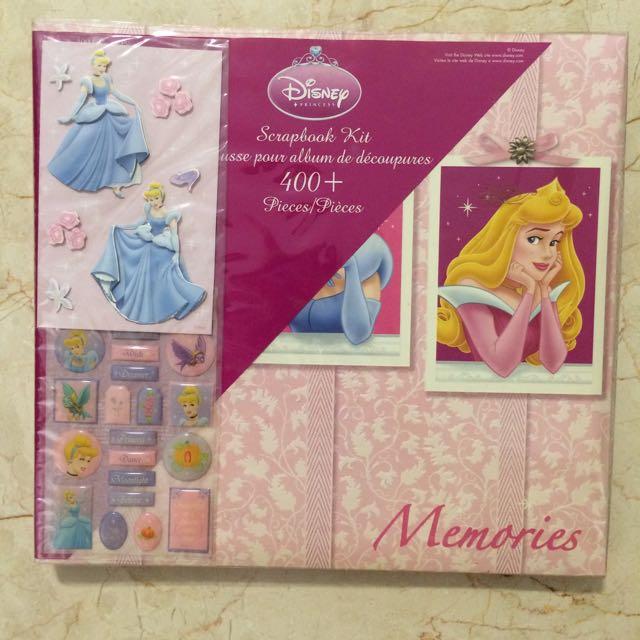 Reduced Disney Scrapbook Kit Design Craft Craft Supplies