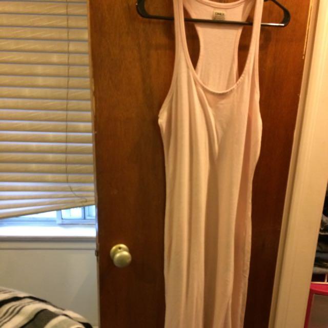 DKNY Light Pink Maxi Dress