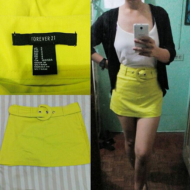 Forever 21 High-waist Mini Skirt