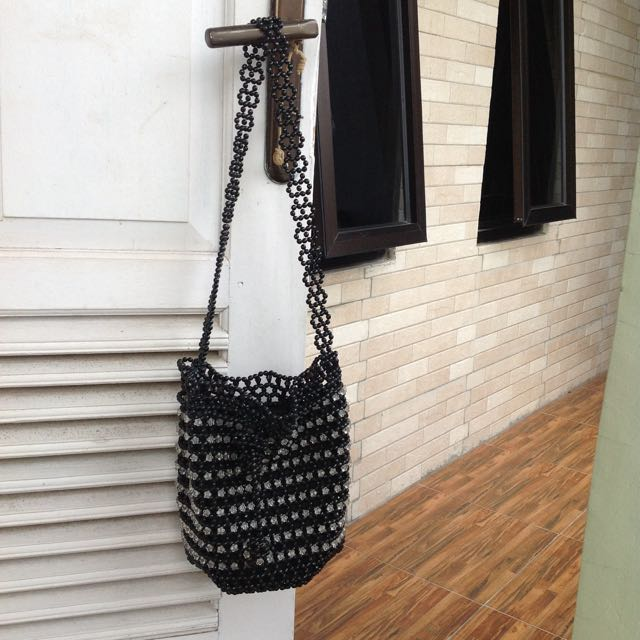 Handmade bag manik-manik