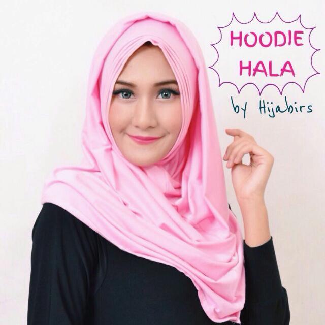 Hijab Instant Hoodie Hala Pink Hijabirs