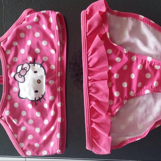 H&M Hellokitty Swimming Suit