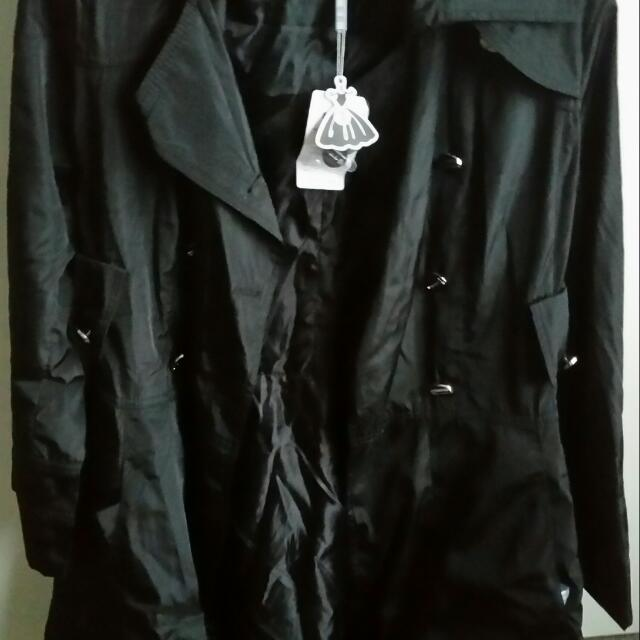 Black Jacket Coat