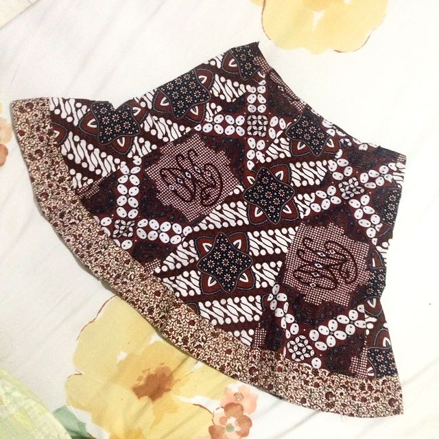 Play With Batik Skirt