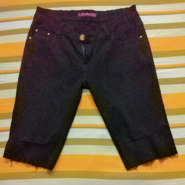 Kardashian Style Ripped Shorts