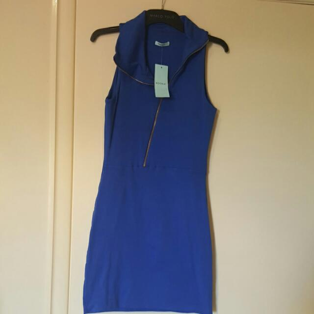 Kookai Dress/ cobalt blue