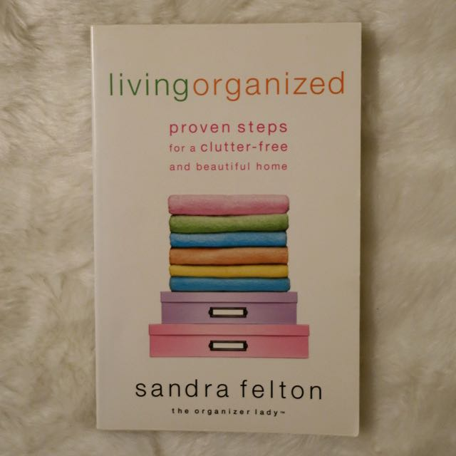 Living Organized Book - Sandra Felton