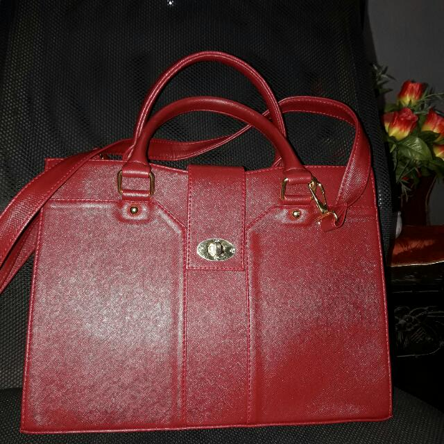 Marikina-made Bag (Red)