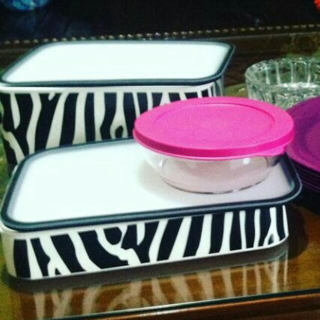 NEW !!  Bazelin Zebra Tupperware Brazil