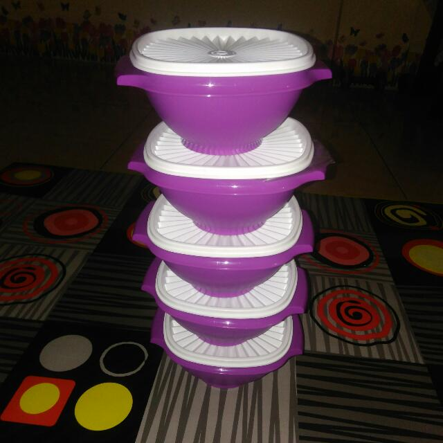New !! Tupperware Indo Servelier Bowl