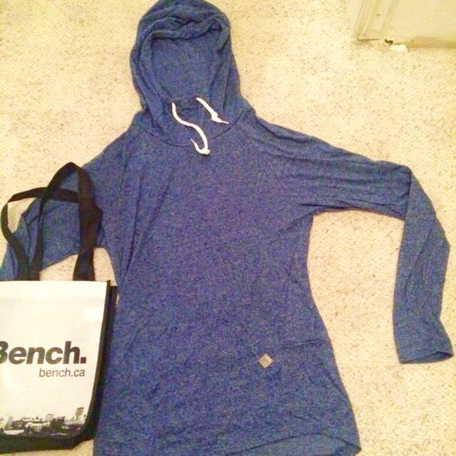New Bench Salt and Pepper Hoodie