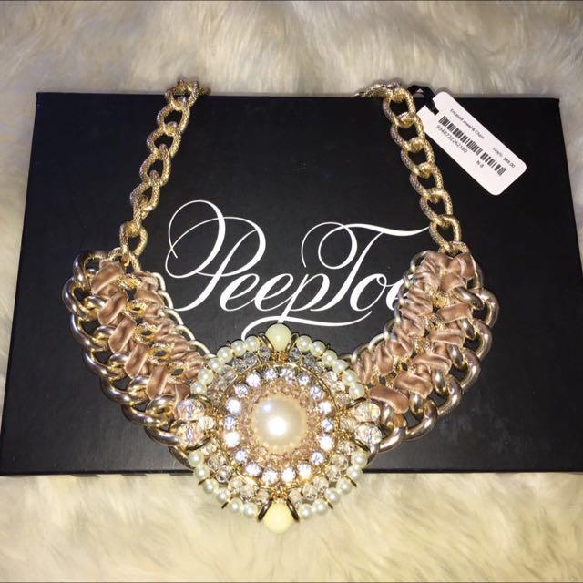 Peeptoe Necklace BNWT