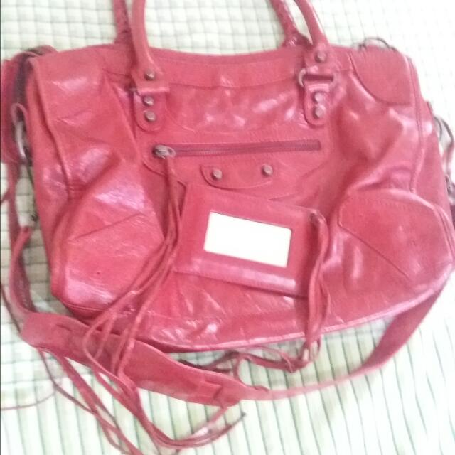 Red BAG from JAPAN