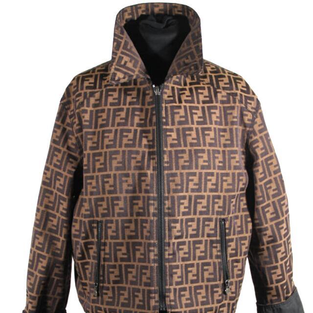 Reversible FENDI Zucca Jacket for Men (Large)