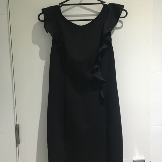 Review Corporate/cocktail Dress . Fits 10/12.